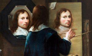 autorretrato espejo