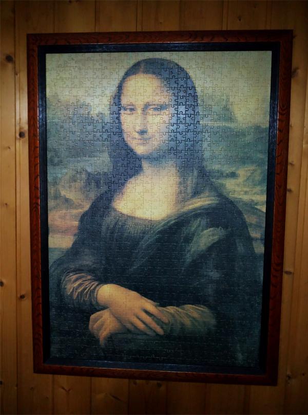 Enmarcación Puzzles Canarias