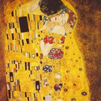 El Beso – Gustav Klimt :: Cuadros Canarias.
